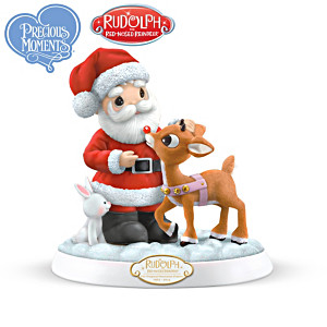 Precious Moments Rudolph the Red-Nosed Reindeer Figurines