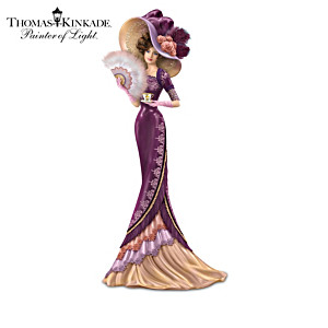 "Thomas Kinkade ""Whispers Of Elegance"" Victorian Figurines"