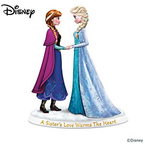 Disney FROZEN Elsa And Anna Sisterhood Figurine Collection