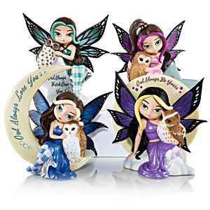 """Jasmine Becket-Griffith """"Mystic Vision"""" Figurine Collection"""