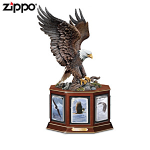 Eagle Art Zippo® Collection With Sculptural Display