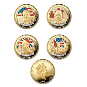 The 1943 Quebec Conference Golden Crown Coin Collection