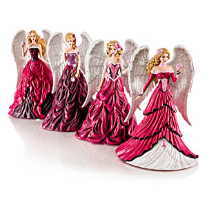 """Nene Thomas """"On Wings Of Hope"""" Angel Figurine Collection"""