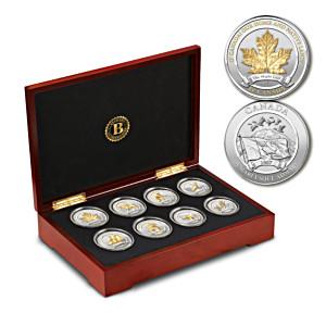 O' Canada Commemorative Silver-Plated Medallion Collection